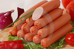 Heap Of Sausages Stock Photography - Image: 5986472