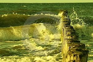 Chapoteo Grande Fotos de archivo libres de regalías - Imagen: 5989268