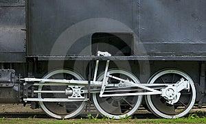 White Wheels Stock Image - Image: 5989951