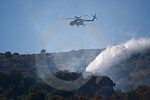 Fire Helicopter Royalty Free Stock Photo - Image: 5991655