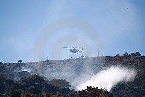 Fire Helicopter Royalty Free Stock Photography - Image: 5991727