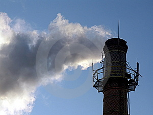 Smoke From Chimney Royalty Free Stock Image - Image: 5993656