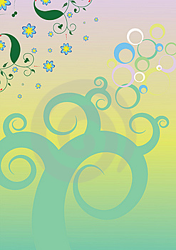 Decorative Background, Vector Royalty Free Stock Photography - Image: 5993667