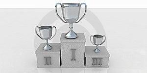 Winners Podium Royalty Free Stock Photo - Image: 5993945