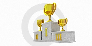 Winners Podium Stock Photography - Image: 5993962