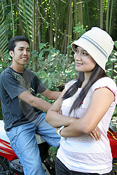 Couple In Nature Stock Photography - Image: 5995162
