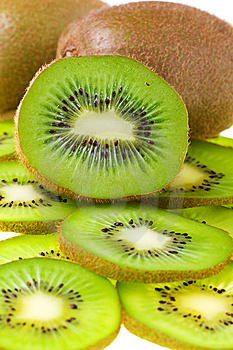 Kiwi Slices Stock Photos - Image: 5995613