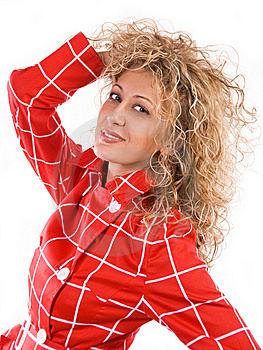 Pretty Blond Woman Royalty Free Stock Photo - Image: 5996045