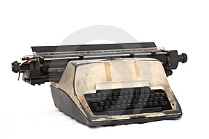 Vintage Typewriter Stock Photo - Image: 5997520