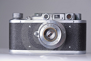 Old Camera With Scratches And Dust, Soft Focus Stock Photo - Image: 5998860