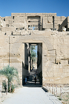 Karnak Temple. Royalty Free Stock Photo