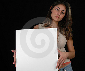 Blank board-4 Royalty Free Stock Image