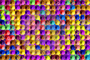 Bubble Wrap Pattern Stock Images