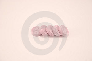 Pink candies Royalty Free Stock Photography