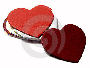Pile Of Hearts Royalty Free Stock Images