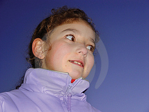 Cute Girl Free Stock Photography
