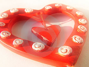 Valentine Heart, Background Free Stock Image