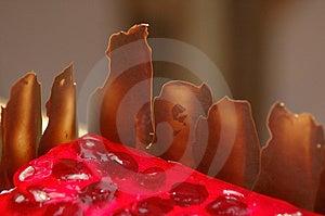 Strawberry Cake Free Stock Image