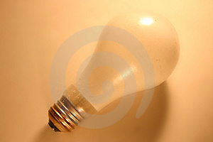 Lightbulb Yellow Free Stock Photography