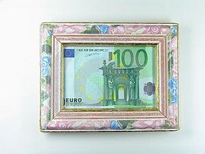 Framed Money Free Stock Photo