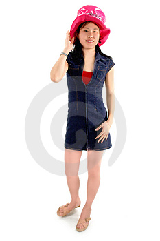 Asian Girl 1 Royalty Free Stock Photo