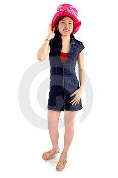 Asian Girl 1 Free Stock Photo