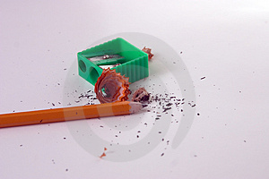 Pencil Sharpener 1 Stock Image