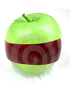 Green Crossbred Apple Free Stock Photo