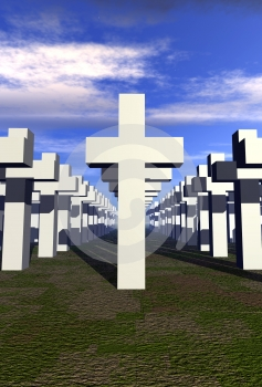 Graveyard 2 Stock Images - Image: 602804