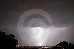 Large Lightning Bolt Royalty Free Stock Photo - Image: 606855
