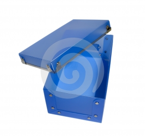 Blue Plastic Box Stock Photos - Image: 607843