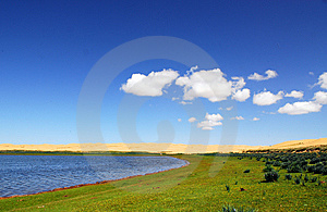 The Island Of Sand Stock Photography - Image: 6000062