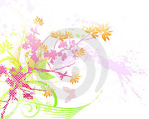 Floral Background  Royalty Free Stock Photo - Image: 6003245