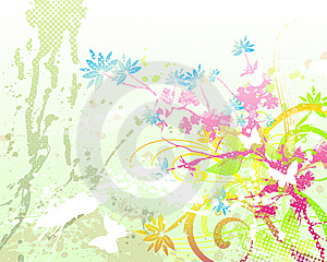 Floral Background 05 Royalty Free Stock Photography - Image: 6003847