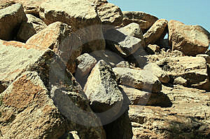Boulder Pile Stock Photography - Image: 6004502