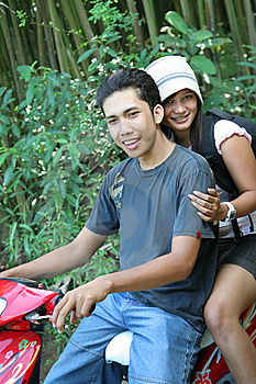 Couple Traveling At Tropical Country Stock Photography - Image: 6006052