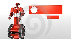 Robot Royalty Free Stock Images - Image: 6006189