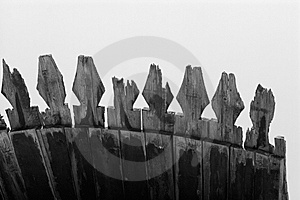 Wooden Roof Detail Royalty Free Stock Images - Image: 6007839