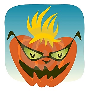 Crazy Pumpkin Royalty Free Stock Photography - Image: 6009697