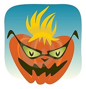 Crazy Pumpkin Royalty Free Stock Photography - Image: 6009697