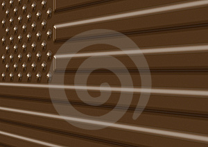 Chocolate USA Flag Illustration Royalty Free Stock Images - Image: 6010209