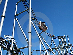 Rollercoaster Royalty Free Stock Photo - Image: 6011705