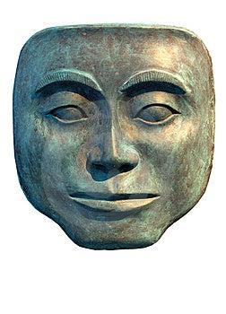 Wooden Mask Stock Image - Image: 6012771