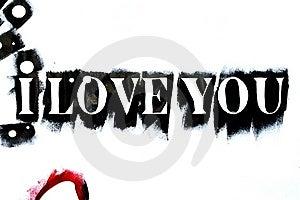 I Love You Background Stock Image - Image: 6017121