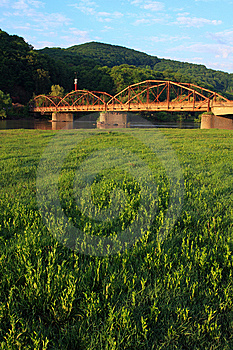 Old Metal Bridge Royalty Free Stock Images - Image: 6019869