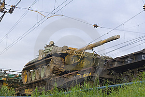 Russian Tank Royalty Free Stock Photos - Image: 6022378