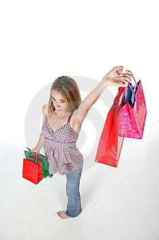 Shopping Victory Stock Photography - Image: 6023312