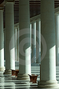 Columns Royalty Free Stock Photos - Image: 6024298