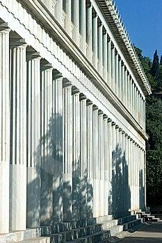 Column Row Stock Photo - Image: 6024320