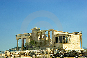 The Erechtheum Royalty Free Stock Images - Image: 6024849